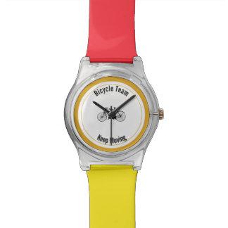 Antique tandem wrist watch
