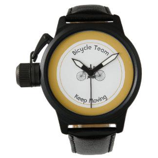 Antique tandem wrist watches