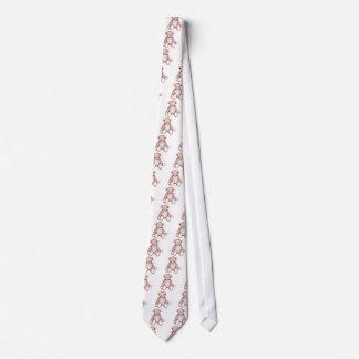 Antique Teddy Bear Tie