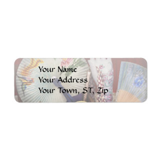 Antique - The finer things in life Return Address Label