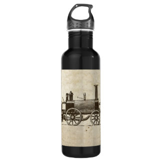 Antique Toy Steam Train 710 Ml Water Bottle