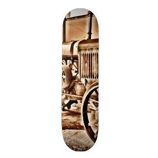 Antique Tractor Farm Equipment Classic Sepia Skate Board Decks