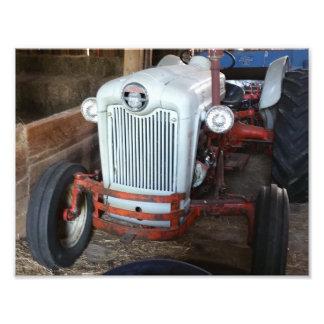 Antique Tractor Photo Print