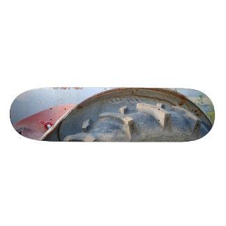antique tractor skateboard deck