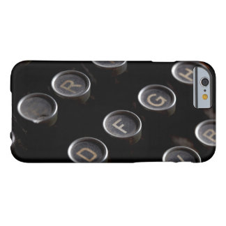 Antique Typewriter Keys Barely There iPhone 6 Case