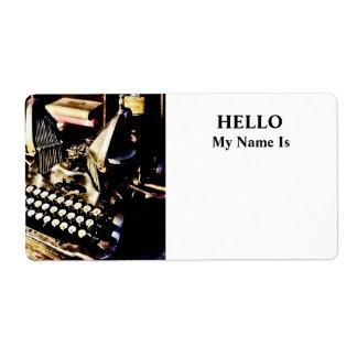 Antique Typewriter Oliver #9
