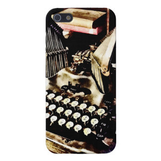 Antique Typewriter Oliver #9 Cover For iPhone 5/5S