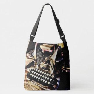 Antique Typewriter Oliver #9 Crossbody Bag