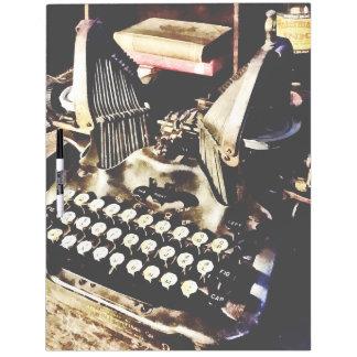 Antique Typewriter Oliver #9 Dry Erase Board