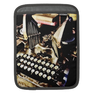 Antique Typewriter Oliver #9 iPad Sleeve
