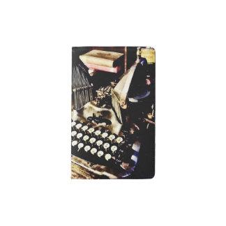 Antique Typewriter Oliver #9 Pocket Moleskine Notebook