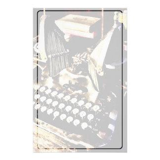 Antique Typewriter Oliver #9 Stationery