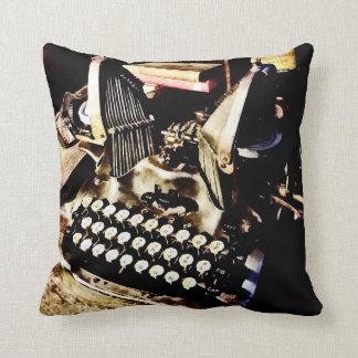 Antique Typewriter Oliver #9 Throw Pillow