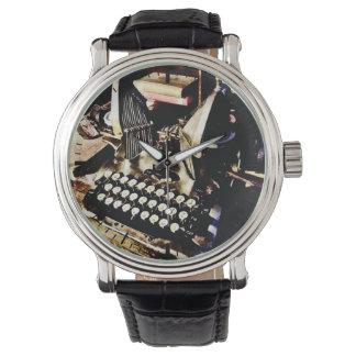 Antique Typewriter Oliver #9 Watch