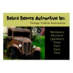 Antique Vehicle  Old Truck  Repair Shop