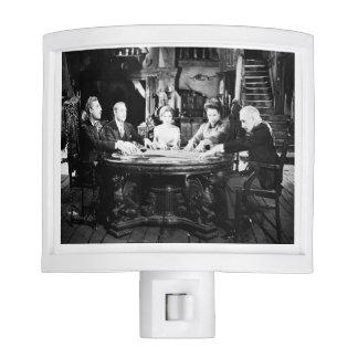Antique Victorian Seance Night Light