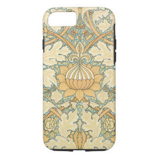 Antique Victorian William Morris Floral Leaf Plant iPhone 7 Case