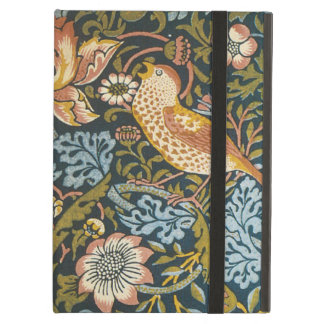 Antique Victorian William Morris Flowers Birds Case For iPad Air