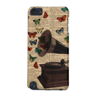 Antique Victrola Butterflies IPod Touch Case