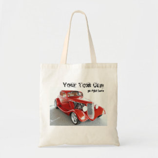 Antique Vintage Collector RED car Bags
