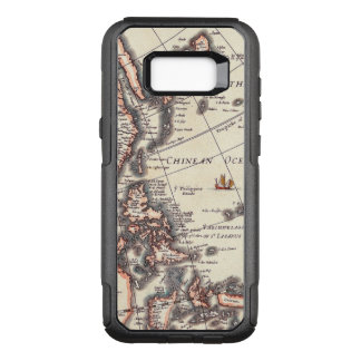 Antique Vintage Map of Chinean Sea Circa 1652 OtterBox Commuter Samsung Galaxy S8+ Case