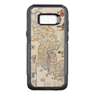Antique Vintage Map of Japan Circa 1608 OtterBox Commuter Samsung Galaxy S8+ Case