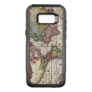 Antique Vintage Map of the Known World OtterBox Commuter Samsung Galaxy S8+ Case