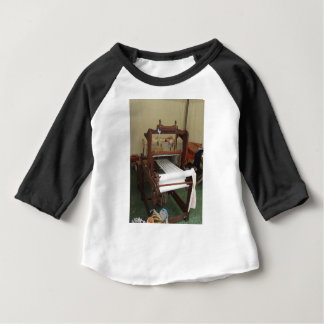 Antique vintage spinner machine working baby T-Shirt