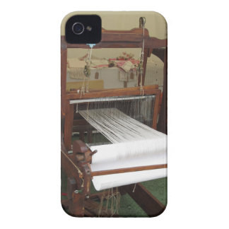 Antique vintage spinner machine working Case-Mate iPhone 4 cases