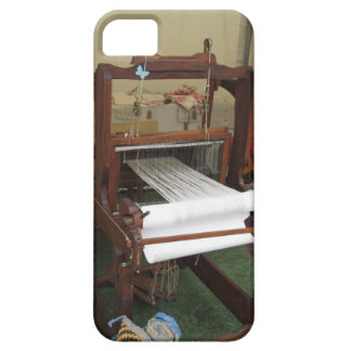 Antique vintage spinner machine working iPhone 5 case