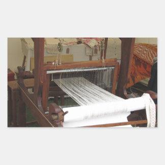 Antique vintage spinner machine working sticker