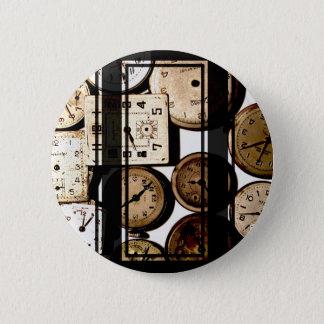 Antique Watch Faces Steampunk 2 Inch Round Button