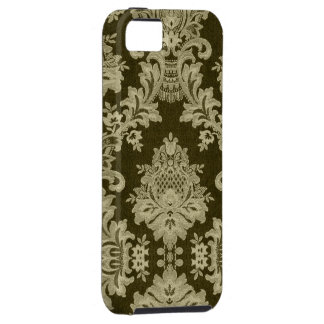 Antique White Traditional Linen & Lace iPhone 5 Case