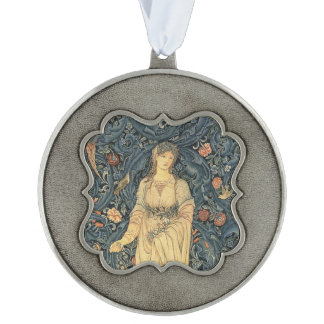 Antique William Morris Flora Ornament