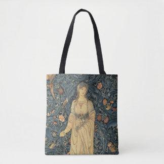Antique William Morris Flora Tote Bag
