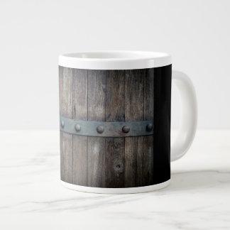 Antique Wood coffee mug