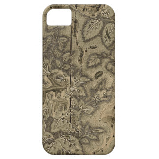 Antique wood printing block case for the iPhone 5