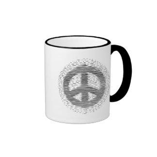 Antique Woodcut Peace Coffee Mugs