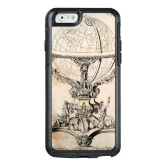 Antique World Globe Map Print OtterBox iPhone 6/6s Case