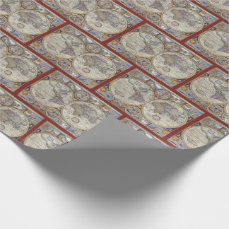 Antique World Map #3 Wrapping Paper