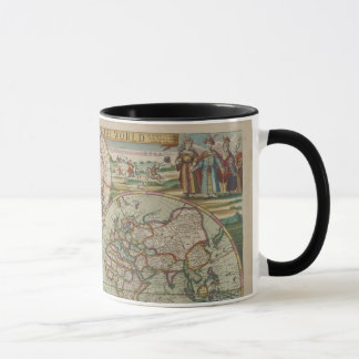 Antique World Map, Cup / Mug