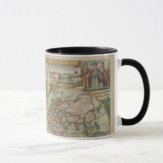 Antique World Map, Cup / Mug