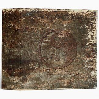 Antique Yin Yang Binder