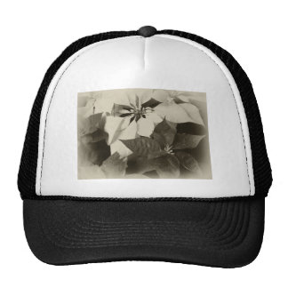 Antiqued Mixed Color Poinsettias 2 Trucker Hats