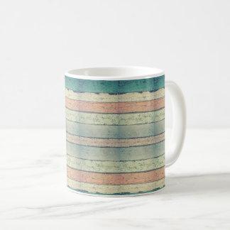 Antiqued Wood Mug