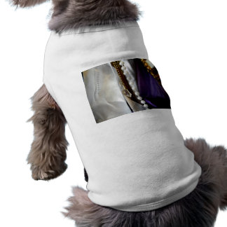 Antiques and Pearls Pet T-shirt