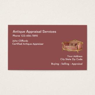 Antiques Appraiser Businesscards Business Card