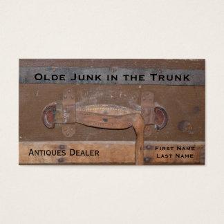Antiques Dealer Vintage Trunk of Treasures Business Card