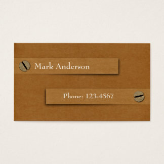 Antiques or Collectibles Dealer Business Card