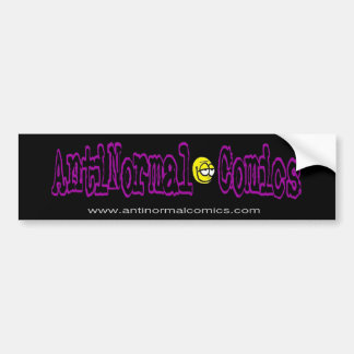 Anti's BumperStickemThing Bumper Sticker